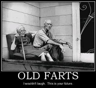 old farts dating If you're older and more mature dating younger women can actually be easier than when you were young if you know how to do it here are some tips on dating younger women:.
